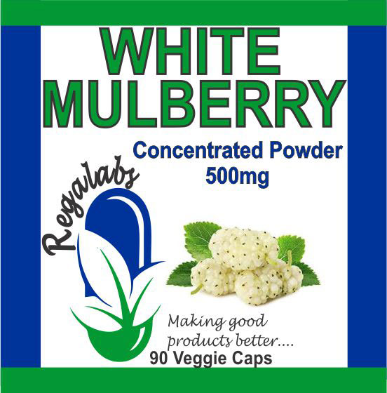 Private Label White Mulberry 90 Capsules
