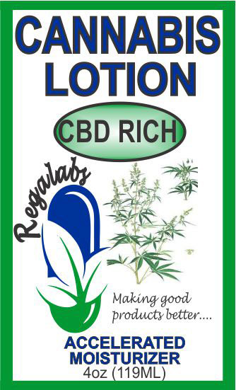 Private Label Cannabis Lotion, 4oz