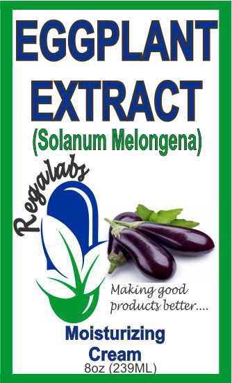 Private Label Eggplant Extract Cream, 8oz