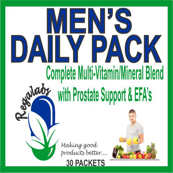 Private Label Men's Daily Pack, 30 Packets
