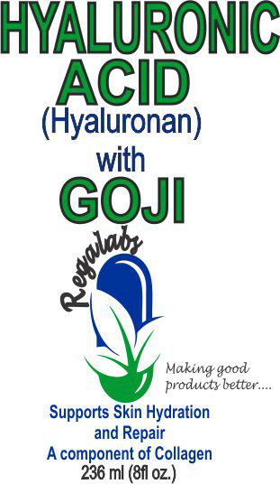 Private Label Hyaluronic Acid with Goji Extract, 8oz