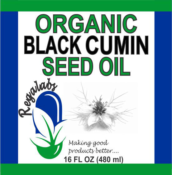 Private Label Black Cumin Seed Oil 16oz