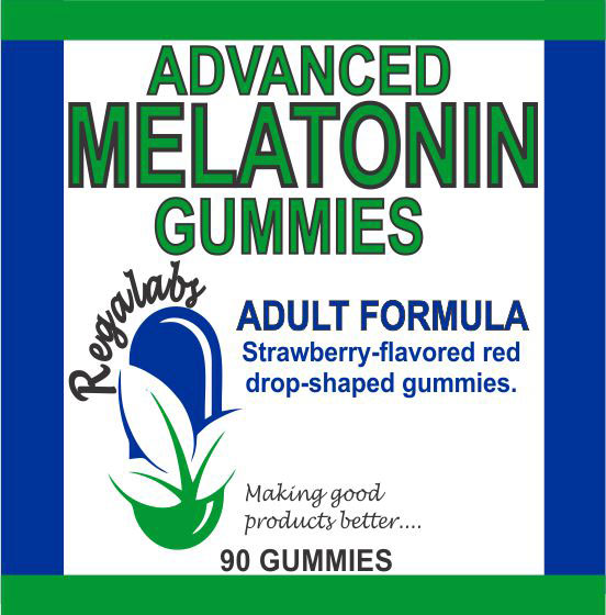 Private Label Melatonin Gummies, 90 Count