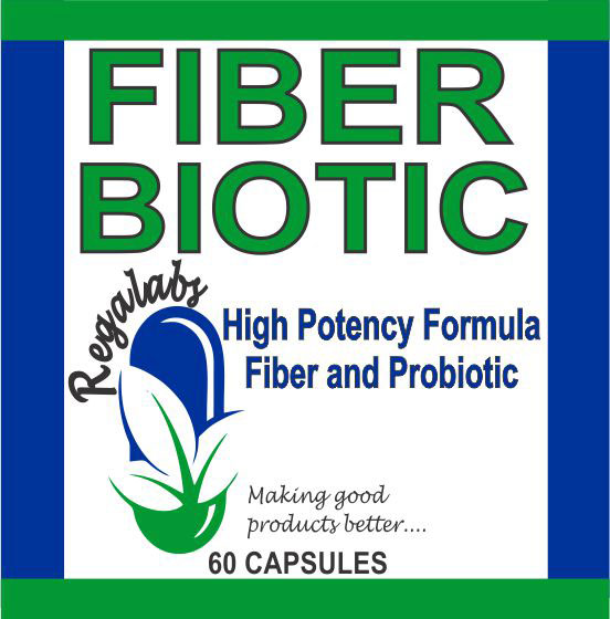 Private Label Fiber Biotic, 60 Capsules