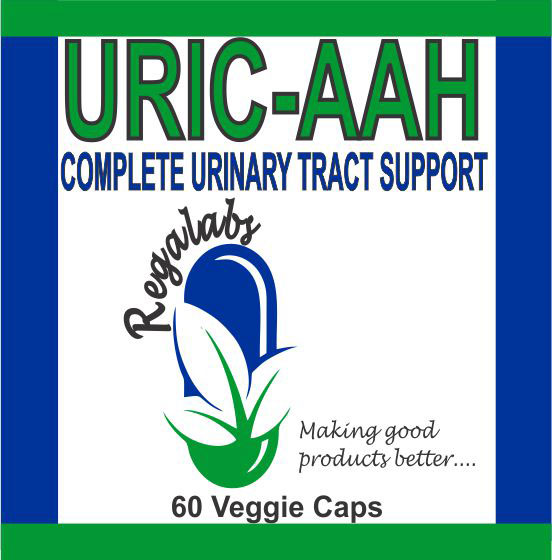 Private Label Uric-Aah 60 Veggie Caps