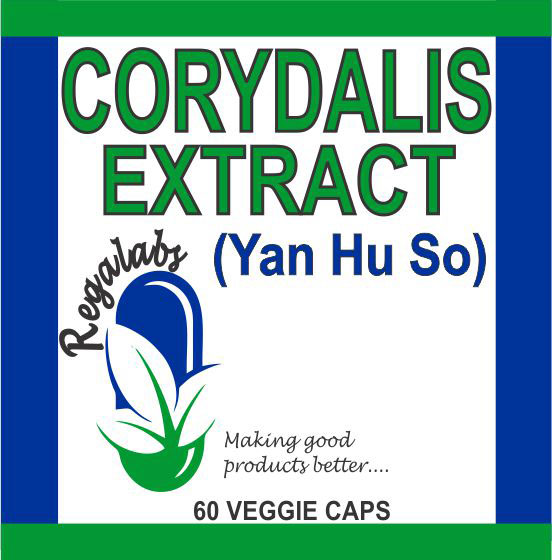 Private Label Corydalis Extract, 60 Capsules