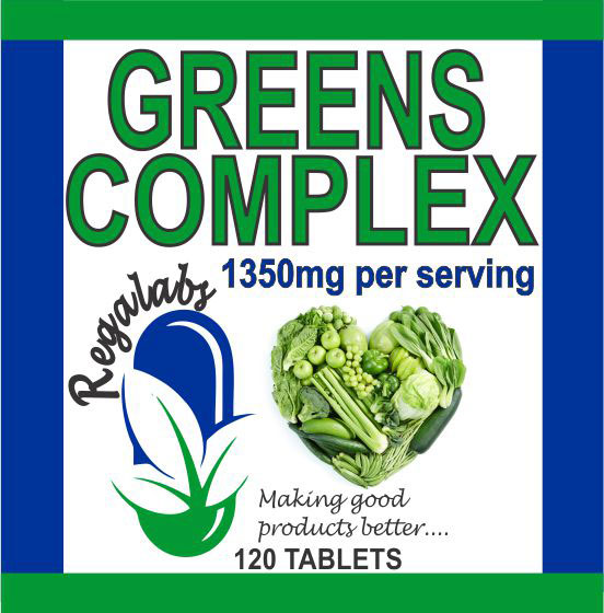 Private Label Greens Complex 120 Tablets