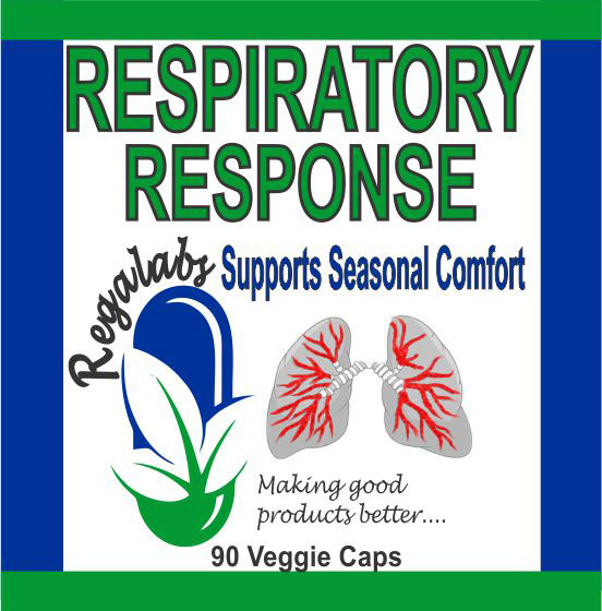 Private Label Respiratory Response 60 Veggie Caps