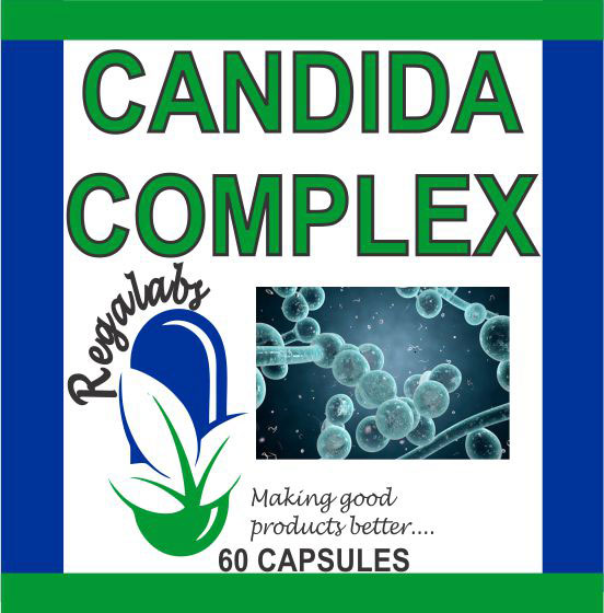 Private Label Candida Complex 60 Capsules