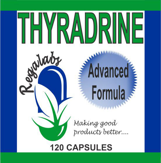 Private Label Thyradrine 120 Capsules