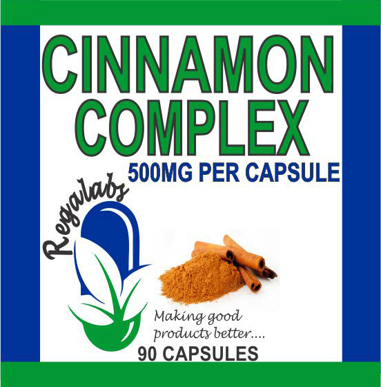 Private Label Cinnamon Complex 90 Capsules
