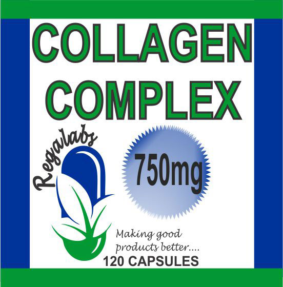 Private Label Collagen 750mg, 120 Capsules