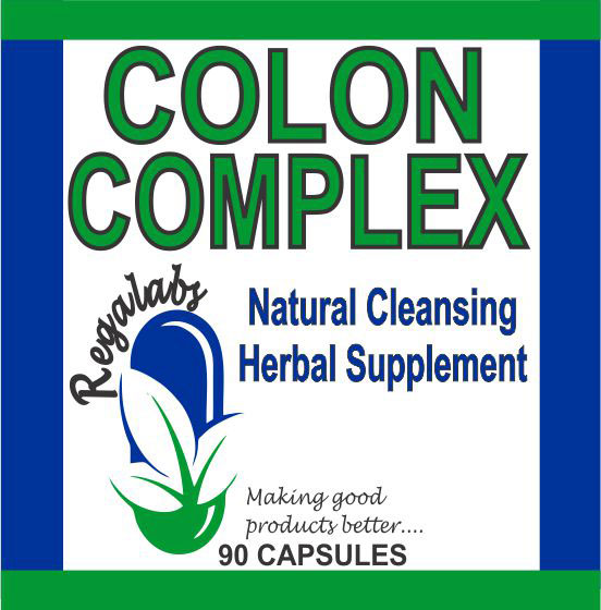 Private Label Colon Complex 90 Capsules