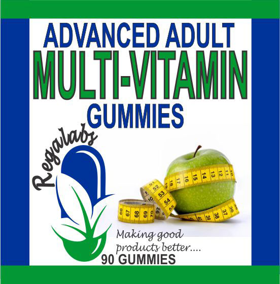 Private Label Advanced Adult Multi-Vitamin Gummies, 90 Count