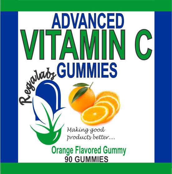 Private Label Advanced Vitamin C Gummies, 90 Count