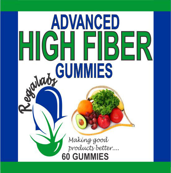Advanced High Fiber Gummies, 60 Count