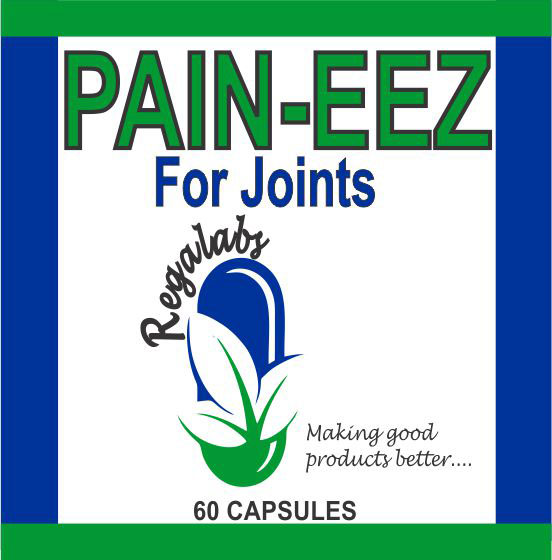 Private Label Pain-EEZ 60 Capsules