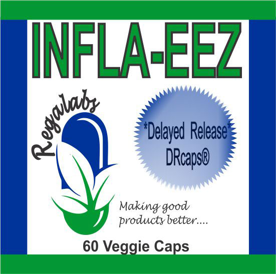 Private Label Infla-EEZ, 60 Veggie Capsules
