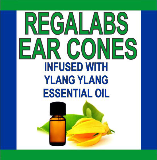 Ear Cones-Ylang Ylang Essential Oil, 2 Pack