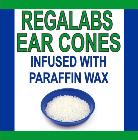Ear Cones-Paraffin Wax, 2 Pack