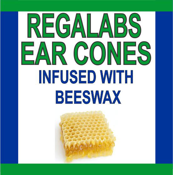 Private Label Ear Cones-Beeswax, 4 Pack