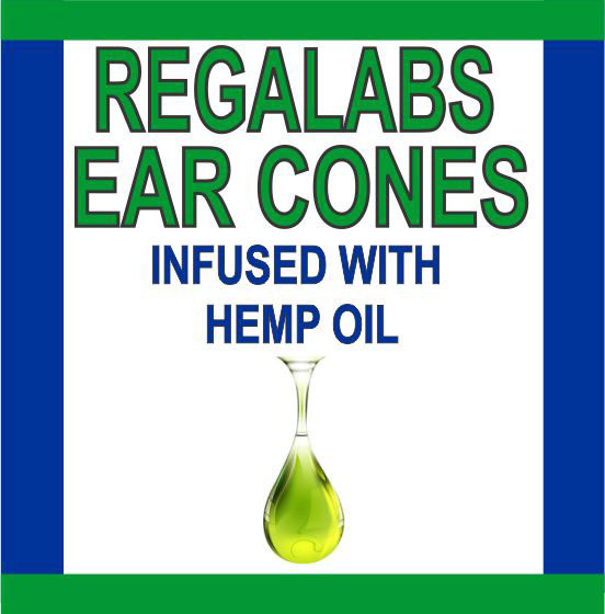 Private Label Ear Cones-Hemp Oil, Single Pack