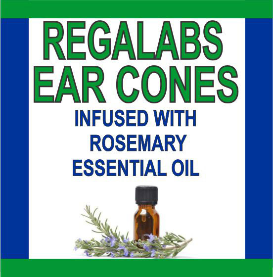Ear Cones-Rosemary Essential Oil Single Pack