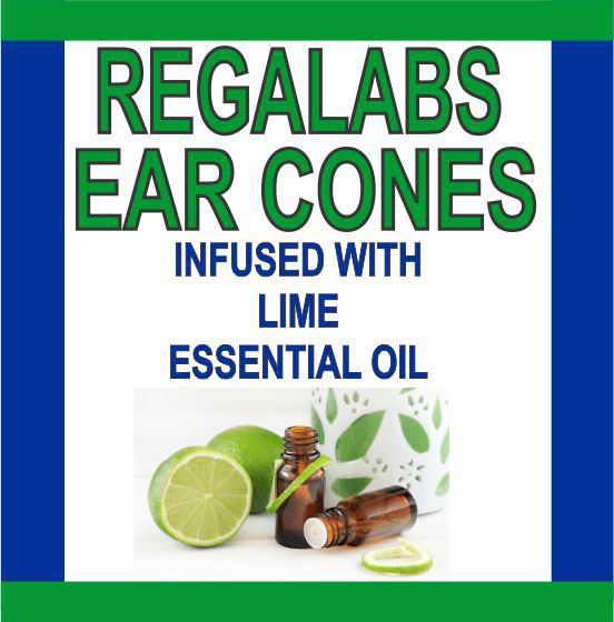 Ear Cones-Lime Essential Oil, Single Pack