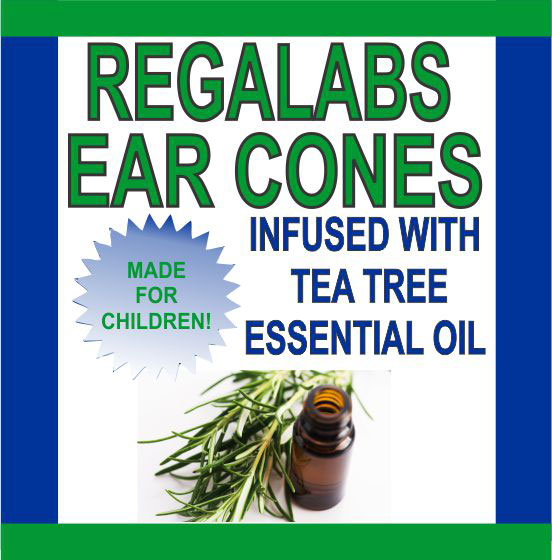 Private Label Ear Cones-Child Tea Tree Essential Oil, Single Pack