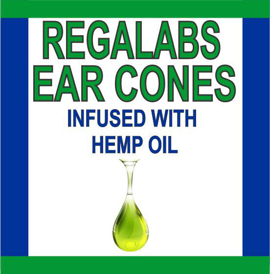 Private Label Ear Cones-Hemp Oil, 2 Pack