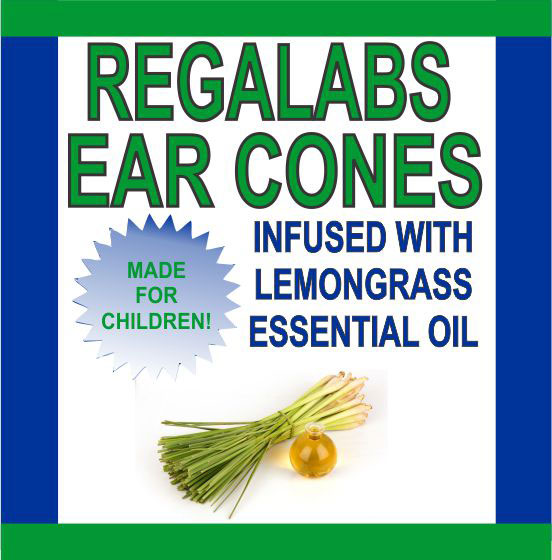 Ear Cones-Child Lemongrass Essential Oil, Single Pack