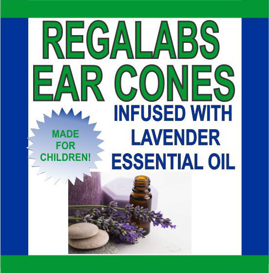 Ear Cones-Child Lavender Essential Oil, Single Pack