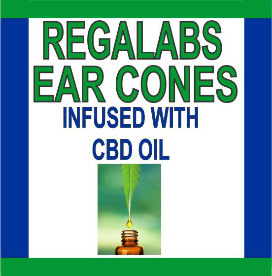 Private Label Ear Cones-CBD Oil, Single Pack