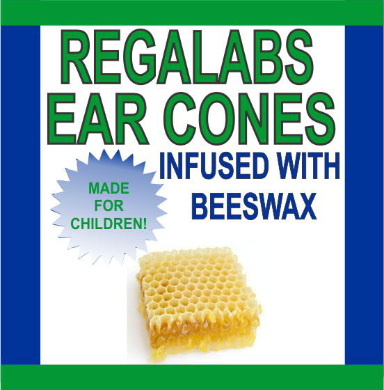 Private Label Ear Cones-Child Beeswax, 2 Pack