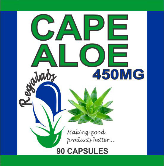 Private Label Cape Aloe 450mg 90 Capsules