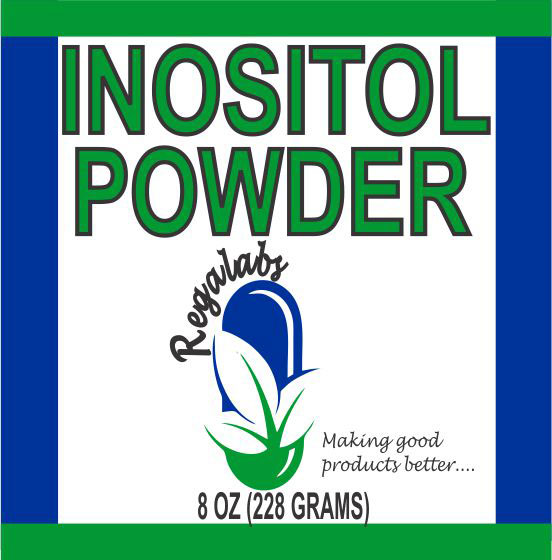 Private Label Inositol Powder, 8oz