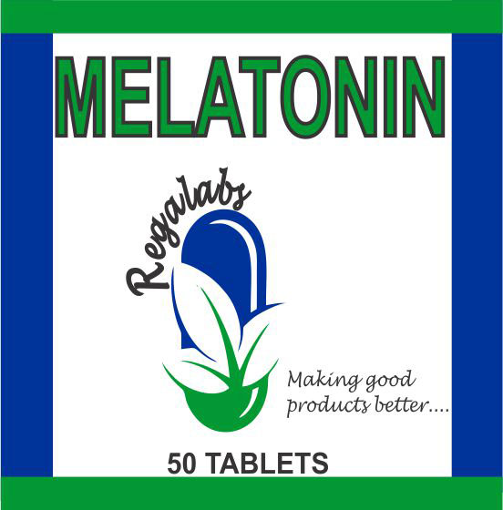 Private Label Melatonin 3mg, 50 Tablets