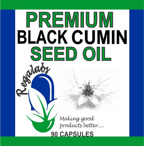 Private Label Black Cumin Seed Oil, 90 Capsules