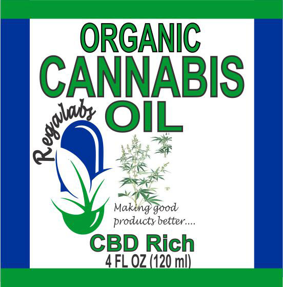 Private Label Cannabis Oil, 4oz