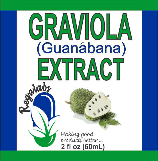 Private Label Graviola Extract 2oz