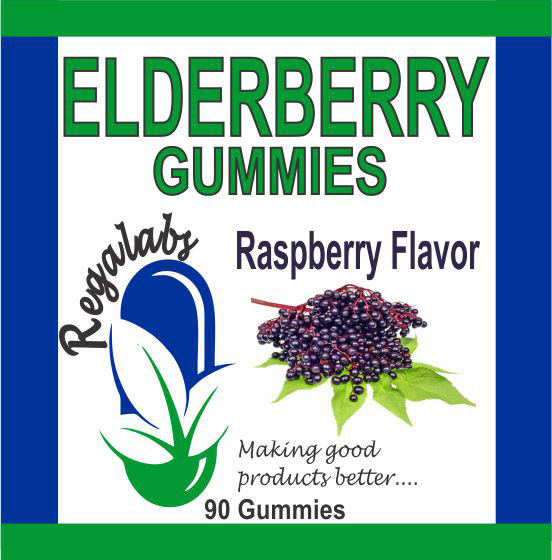 Private Label Elderberry Gummies, 90 Count