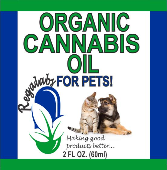 Private Label Pet CBD Oil, 2oz