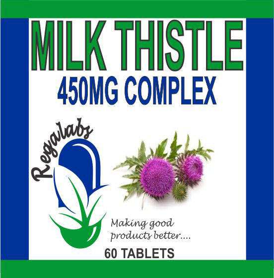 Private Label Milk Thistle 450mg, 60 Tablets