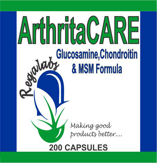 Private Label ArthritaCARE 200 Capsules