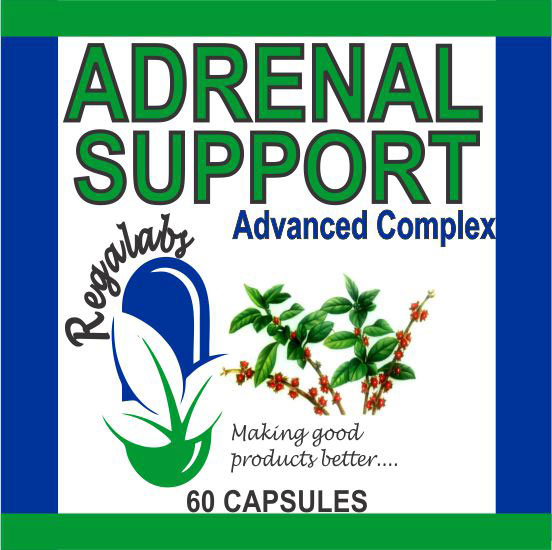 Private Label Adrenal Support, 60 Capsules